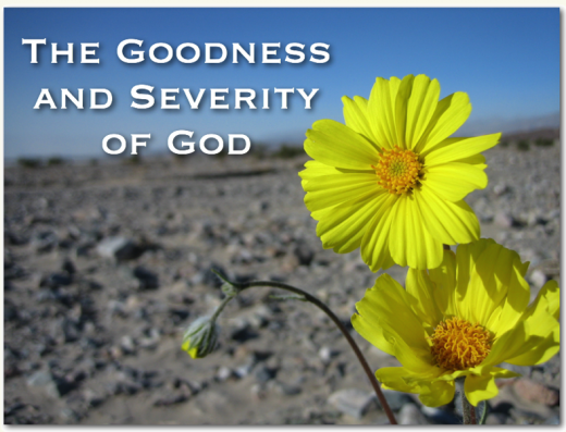 Numbers - The Goodness & Severity Of God